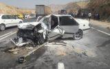 تصادف شاخ به شاخ یکدستگاه خودروی پژو پارس با کامیون ۲مصدوم برجای گذاشت