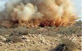 انفجار مین در منطقه مرزی شرهانی دهلران/تلف شدن تعدادی دام سنگین