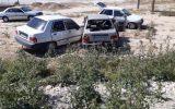 تصادف دو دستگاه پراید در جاده مهران-دهلران حادثه آفرید