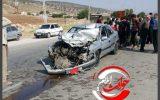 بی احتیاطی راننده تریلی در هنگام دور زدن حادثه آفرید