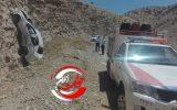 برخورد شدید خودروی رانا با کوه حادثه آفرید