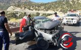 حادثه مرگبار در ایلام با ۲ کشته و ۲ زخمی+عکس