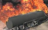 انفجار تانکر حمل سوخت در چرداول