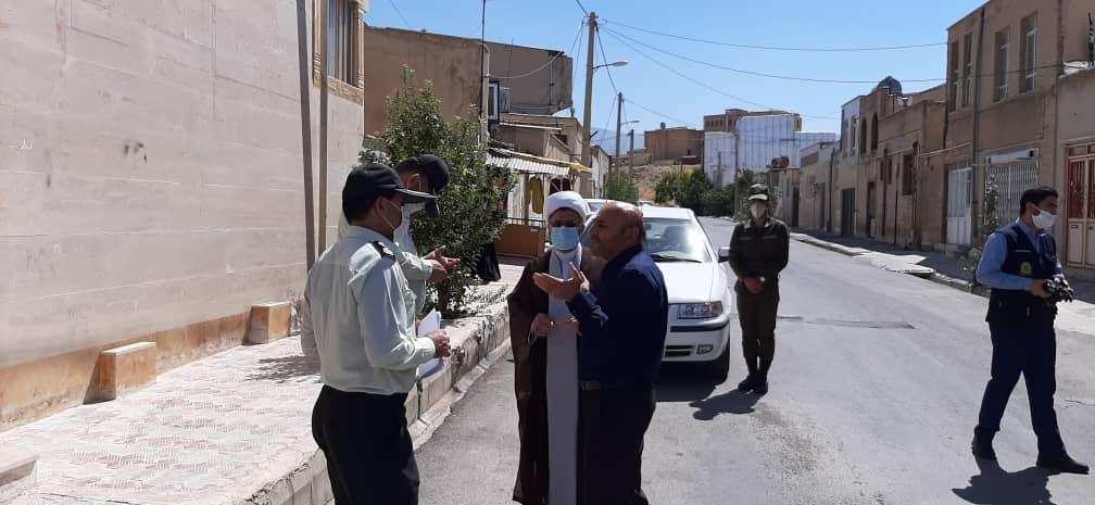 گزارش تصویری/دیدار رییس عقیدتی،سیاسی نیروی انتظامی استان با جانباز ایلامی