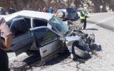 تصادف در محور تنگ قیر به سرابله دو زخمی برجای گذاشت+تصاویر