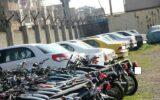 توقیف ۶۶ دستگاه خودرو و موتورسیکلت متخلف در ایلام
