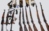 محموله قاچاق سلاح در مرز مهران کشف و ضبط شد