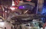 واژگونی شدید زانتیا در شهر ایلام یک زخمی برجای گذاشت+تصاویر