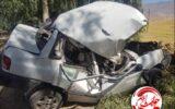 واژگونی مرگبار پراید در محور آبدانان/فوت راننده