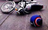 تصادف رانندگی راکب موتور سیکلت را به کام مرگ کشاند