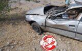 تصادف شدید پژو در شهر دهلران+عکس
