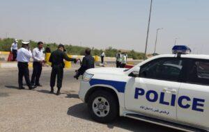 بازدید رئیس پلیس راه انتظامی استان از محورهای دهلران