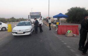 گزارش تصویری/طرح کنترل و جلو گیری از تردد زائرین در ایلام