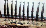 کشف و ضبط محموله اسلحه قاچاق در دهلران