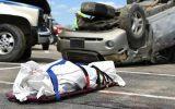 ۶۴ درصد کشته شدگان ناشی از تصادفات جاده ای در محل حادثه فوت می کنند