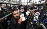 افزایش تردد زائران در مرز مهران با توجه به بسته شدن مرز خسروی
