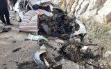 تصادف مرگبار یکدستگاه خودروی پژو۲۰۶ با کامیون در جاده ایلام-مهران محدوده مهدی آباد دو کشته برجای گذاشت