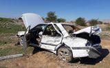 واژگونی خودرو پژو پارس در شهرستان دهلران حادثه آفرید