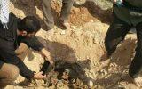 کشف پیکر مطهر چهار شهید در مهران