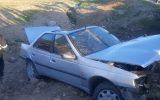 واژگونی خودروی پژو۴۰۵ در جاده آبدانان به مورموری حادثه آفرید