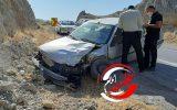 ۲ مصدوم در تصادف پژو۴۰۵ با پیکان+تصویر