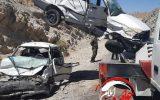 تصادف شدید دو خودروی پراید در محور ملکشاهی+عکس