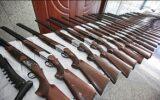 کشف و ضبط ۹ قبضه اسلحه قاچاق در دشت عباس