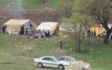 هشدار به چادرنشینان ایلامی به علت بارشهای بهاره و خطر صاعقه
