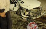 پنج زخمی در تصادف دو پژو در جاده ایلام-مهران+عکس