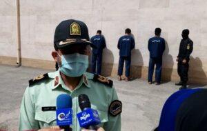 دستگیری عوامل قدرت نمایی در ایلام