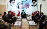فرماندار جدید مهران معارفه شد
