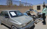 کشف خودروی سرقتی و دستگیری سارق در مهران